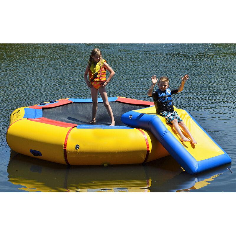 Island Hopper 10' Bounce-N-Splash Bouncer With Slide image number 4