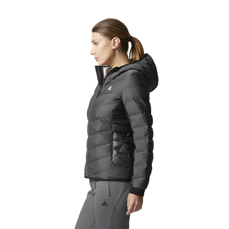 Adidas Women's Nuvic Hooded Down Jacket image number 4