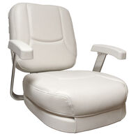 Springfield Ladder Back Chair With Cushions, White