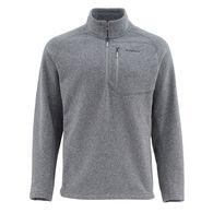 Simms Men's Rivershed Quarter Zip Fleece Sweater