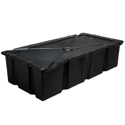 "Dock Float Black 24""x48""x16"""