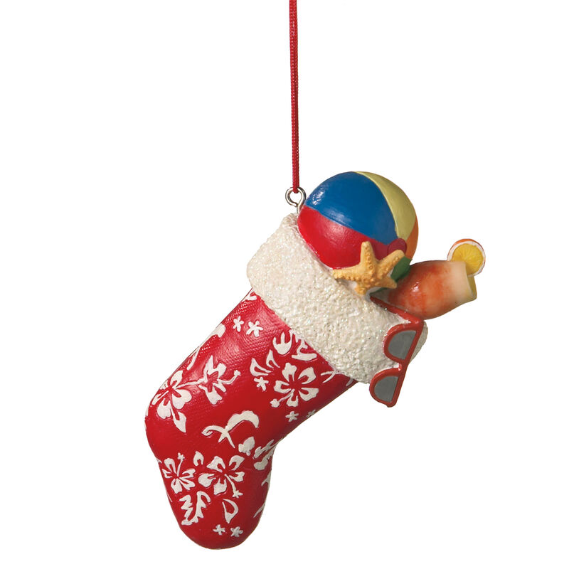 Tropical Stocking Ornament image number 1