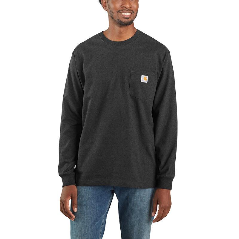 Carhartt Men's Workwear Long-Sleeve Pocket Tee image number 12