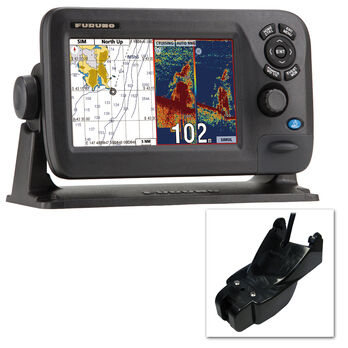 Furuno GP1870F Color GPS Chartplotter/Fishfinder Combo With TM Transducer