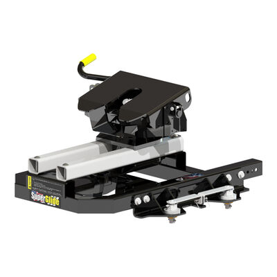 PullRite Series SuperGlide 16K Fifth Wheel Hitch for OEM Ford Towing Prep Package
