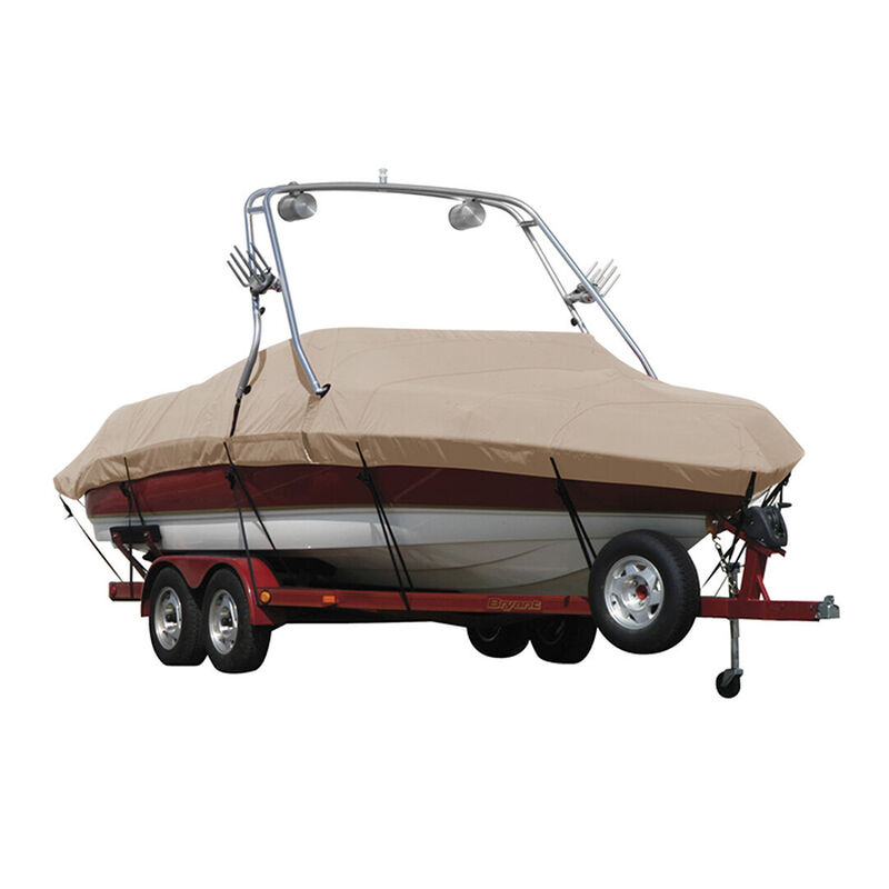 Exact Fit Sunbrella Boat Cover For Cobalt 200 Bowrider With Tower Covers Extended Platform image number 9