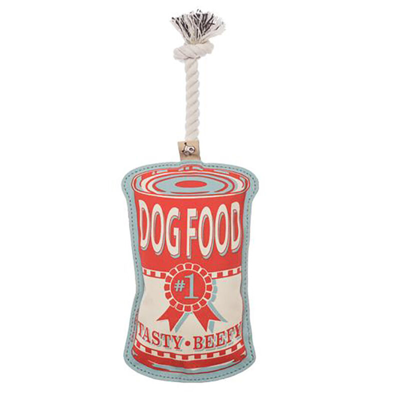 Food Can Rope Pet Toy image number 1