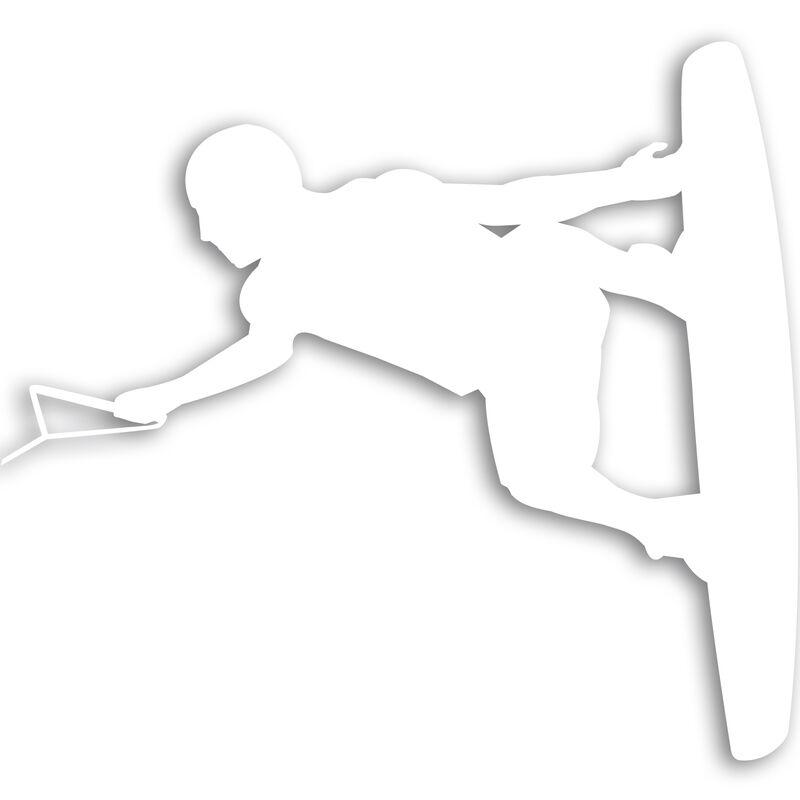 Wakeboarder Vinyl Decal image number 11