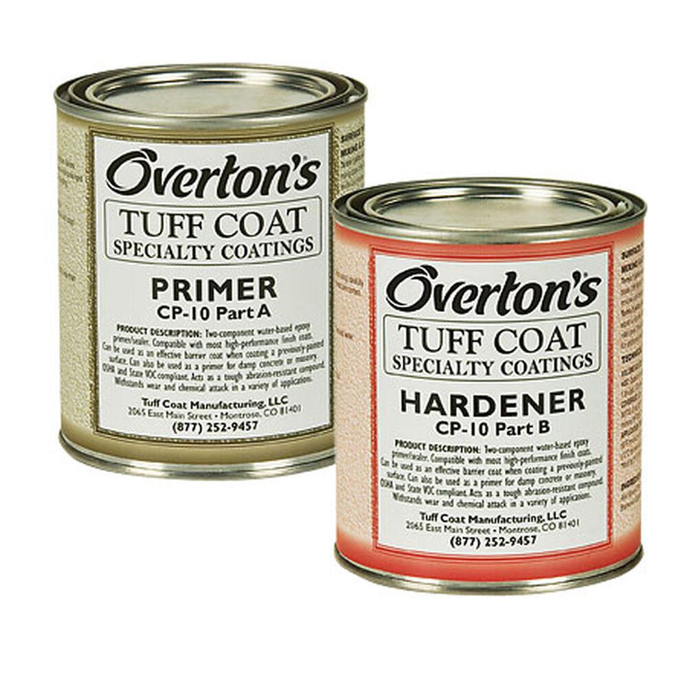 Overton's Tuff Coat Water-Based Epoxy Marine Primer and Hardener CP-10, 1  pt  ea