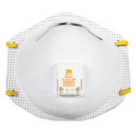 3M Protective Respirator Mask With Cool Flow Valve, 10-Pack
