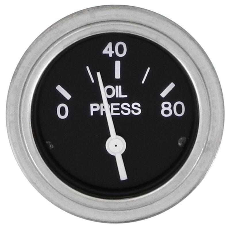 """Sierra 2"""" Oil Pressure Gauge, Sierra Part #80180P image number 1"""