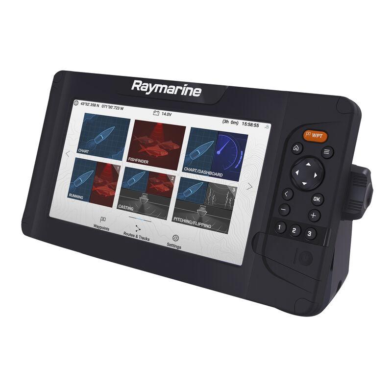 Raymarine Element 9 HV GPS Fishfinder w/Navionics Nav+ US & Canada Charts, no transducer image number 4
