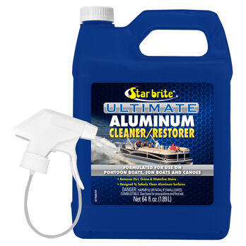 Star Brite Ultimate Aluminum Cleaner With Sprayer, 64 oz.