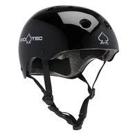 Protec Classic Gloss Black Certified Helmet