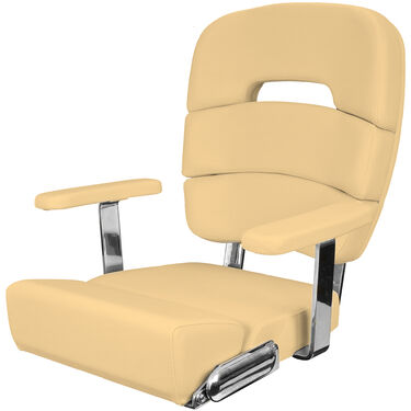 """Taco Deluxe 20"""" Coastal Helm Chair With Armrests"""