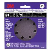 3M Power Tool Sanding Discs, 120-grit