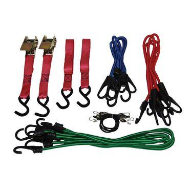 18-Piece Tie Down Assortment Kit