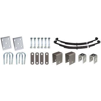 """Tie-Down 1-3/4"""" Single Axle Installation Kit"""