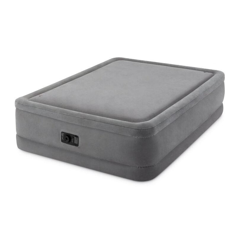 Intex Dura-Beam Foam-Top Airbed, Built-In Pump, Queen image number 3