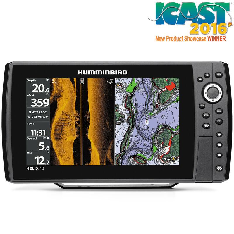 Humminbird Helix 10 SI Fishfinder GPS Combo image number 1