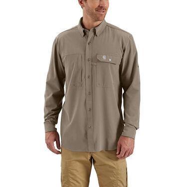 Carhartt Men's Force Extremes Angler Woven Long-Sleeve Shirt