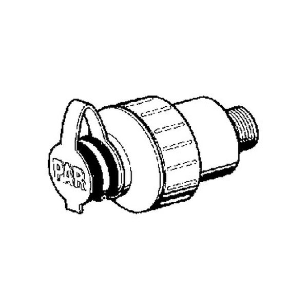 Jabsco In-Line Water Pressure Regulator, White