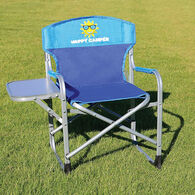 Kids' Director's Chair, Blue/Turquoise