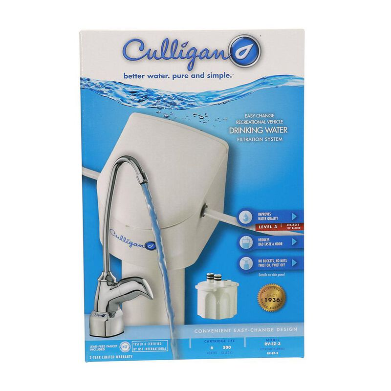 Culligan RV-EZ-3 Undersink Water Filter Kit with Faucet image number 3