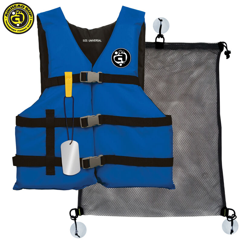 Airhead Stand-Up Paddleboard Deluxe Coast Guard Kit image number 1