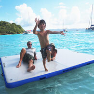Overton's Inflatable Floating Dock, 10' x 8' x 6""