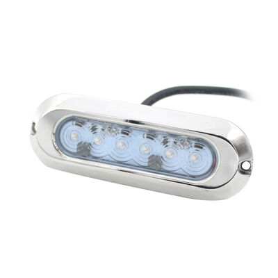 Marine Sport HydroBLAST Ultra Slim 1-POD Underwater 30W LED Lighting System, RGB Multi-Color