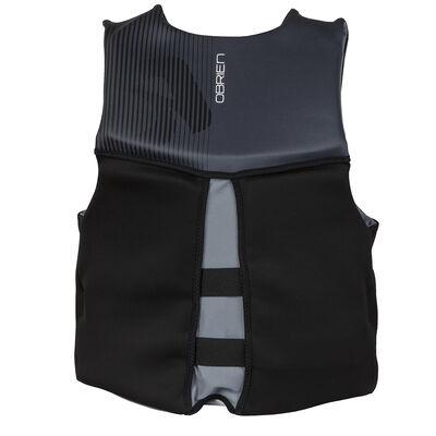 O'Brien Men's Flex V-Back Biolite Life Jacket - Black/Silver - S