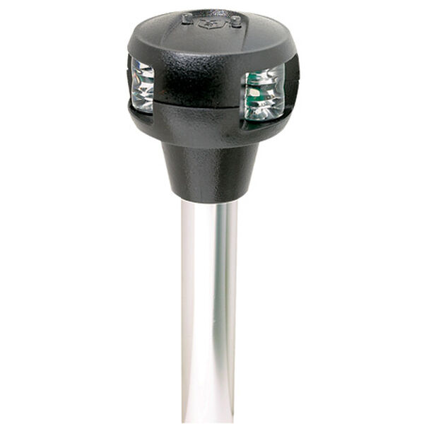 Attwood Pole-Mounted LED Combination Sidelight For Straight Base