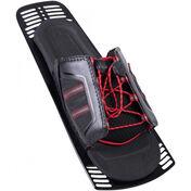 HO Men's xMax Adjustable Rear Toe Plate, 2019, Red/Black
