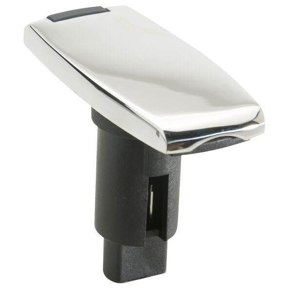 Attwood LightArmor Rectangular Stainless Steel Plug-In Base