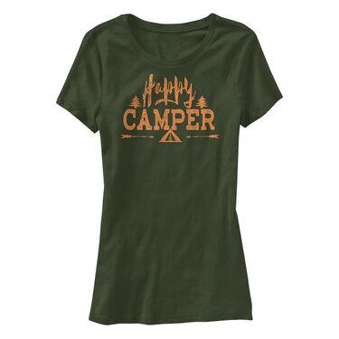 Points North Women's Happy Camper Short-Sleeve Tee