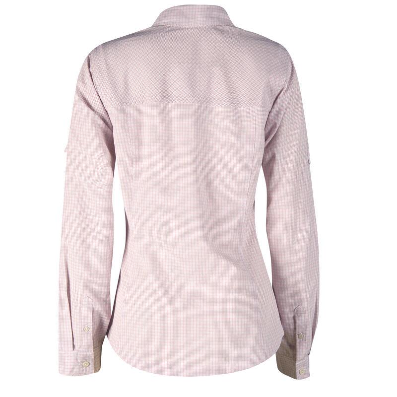 Ultimate Terrain Women's Trailhead Bug Repel Long-Sleeve Plaid Shirt image number 5
