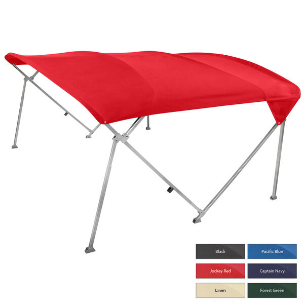 "Shademate Pontoon Bimini Top, Sunbrella Acrylic, 1"" Frame"