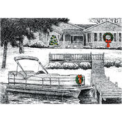 Lakeside Christmas Christmas Cards
