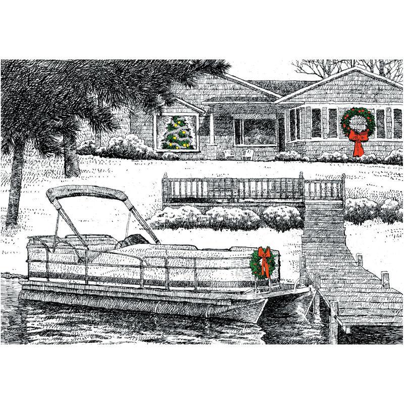Lakeside Christmas Christmas Cards image number 1