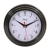 Black Wall Clock, 8""