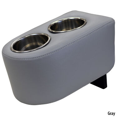 Wise Portable Dual Cup Holder With Stainless Steel Inserts