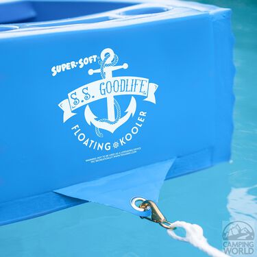 S.S. Goodlife Floating Kooler, Bahama Blue