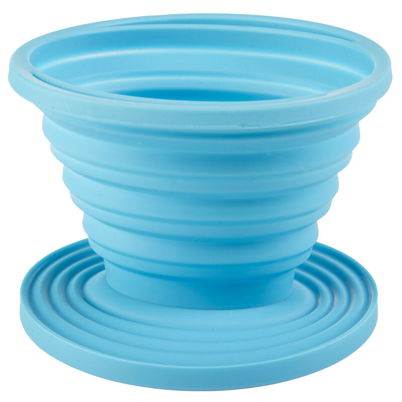Rock Creek Collapsible Silicone Coffee Dripper for Cone Filter image number 1