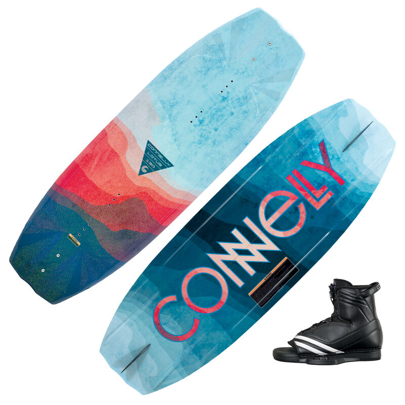 Connelly Lotus Wakeboard With Optima Bindings image number 1