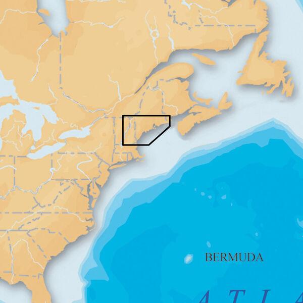 Navionics Platinum+ Map Maine - CF Cartridge