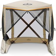 Hike Crew Portable 4-Sided Screen Gazebo with Carrying Bag