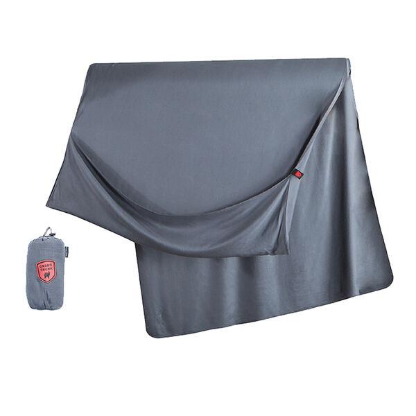 Bamboo Travel Blanket, Slate Gray