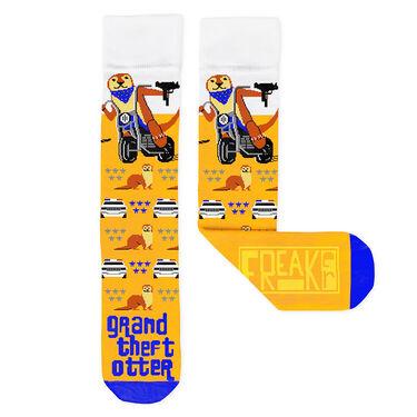 FREAKer Grand Theft Otter Socks
