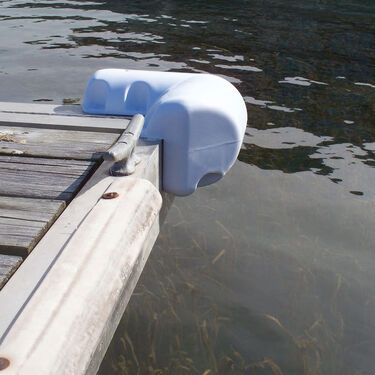 "Dock Edge DockSide Corner Bumper, 11-1/4"" x 11-1/4"""